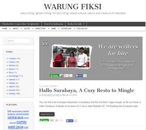 Warung Fiksi dot Net